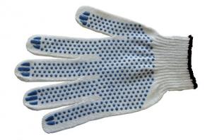 Перчатки Стандарт с ПВХ точка (четырёхнитка)