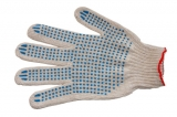 Перчатки Мастер с ПВХ точка (5-нитка)
