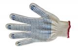 Перчатки Оптима с ПВХ точка (3-нитка)